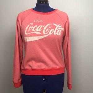 Sweatshirt Enjoy Coca Cola